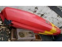 1.2.3 sit on family sea kayak 2 x delux seats