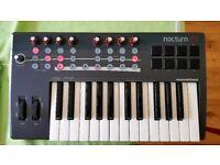 Novation Nocturn 25 Plug-in/Sequencer MIDI Controller Keyboard