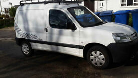 Peugeot Partner van - very low mileage for its age, 87K miles, excellent mechanicaly