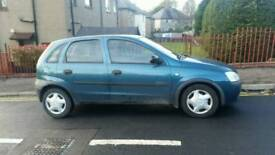 Vauxhall corsa low mileage automatic