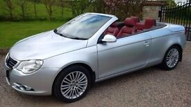 Volkswagen EOS 1.4 TSI 122 Convertible 2008 (Full Leather Interior)(LOW Mileage)