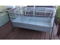 XXL Indoor rabbit cage hutch 5ft long humane cage