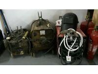 3 stick welders and helmet all working