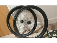 Bike wheels and kenda tyres