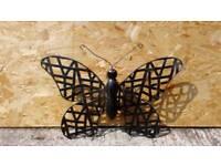 Garden Wall art butterfly metal new