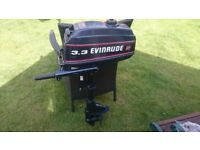 EVINRUDE 3.3HP 2 STROKE OUTBOARD ENGINE