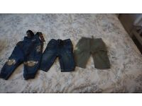 3x baby boy trousers 3-6 months!