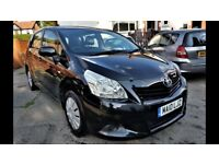 2010 TOYOTA VERSO 1.6 ( 7 SEATER ) MPV, 61,000 MILES, HPI CLEAR, 2 FORMER KEEPER, IDEAL FAMILY CAR