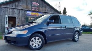 2004 Honda Odyssey 2 Year Warranty Included EX-L, Pwr Doors, DVD Cambridge Kitchener Area image 1