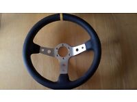 Deep dish steering wheel 13 inch