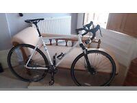 Cyclocross / commuter bike with Rockshock Paragon suspension