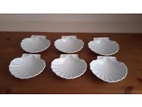 Scallop shell dishes