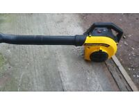 mculloch petrol leaf blower
