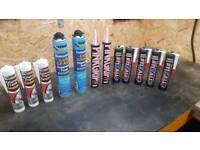 Gun Grade Expanding Foam, Pinkgrip, Frame Sealant, Stixall