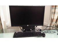 HP 8300 Ultra Slim Desktop PC Computer Intel i5-3470 With 20 Inch Monitor