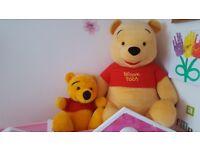 Winnie the pooh 2x teddys