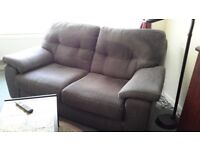 Free 2 Seater Soaf and 1 Chair grey Free