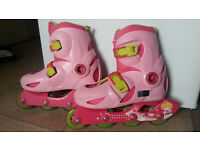 Girl roller skates for sale, size 32-34