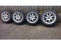 "MINI ONE COOPER S 16"" ALLOY WHEELS WINTER TYRES R50 R52 R53 R55 R56 R57 R58 R59"