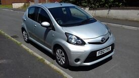 Toyota Aygo Ice, 2012 Low Mileage and ZERO Road Tax, Fully Serviced by Toyota