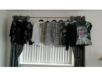 Selection of ladies blouses cardigan tops