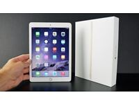 Apple iPad Air 2 White & Gold Unlocked 32GB Wi-Fi, 9.7in Grade A With Keyboard Case & Cover