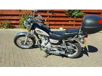 Huoniao 125cc motorcycle