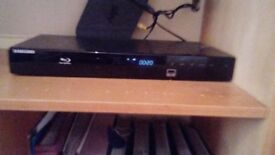 Samsung Blu Ray Player with USB