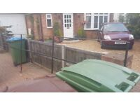 Scrap metal railings free to collect. Approx 4m length