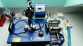 Sublimation heat press 5in1