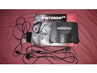 Nintendo 64, 2 controllers with rare games all boxed