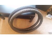 """Two 26"""" Mountain Bike Tyres used."""