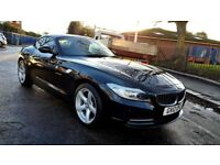 2012 BMW Z4 2.0 20i S DRIVE PETROL CONVERTIBLE 49.000 MILES RED LEATHER INTERIOR