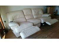 Harveys leather sofa