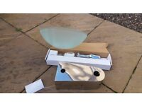 'Next' Frosted Glass Sink and Fittings