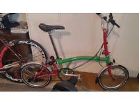 Brompton M3L 2014 Bike.