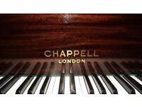 LOVINGLY RESTORED CHAPPELL BABY GRAND PIANO EXCELLENT TONE