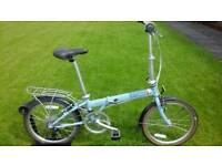 IMMACULATE CONDITION DAHON SPEED D7 FOLDING BIKE RRP £ 582