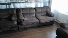 Sofa bed amd 2 armchairs