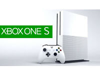 xbox one s 500gb mint condition used a couple of times £200