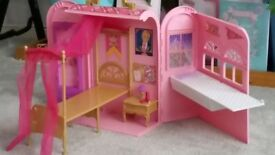 Barbie House (folds up to carry case)
