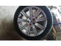 Land rover alloy wheel
