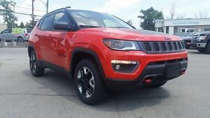 2017 Jeep Compass NEW, TRAILHAWK, SUNROOF, SAFETY TECH