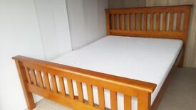 Glossy Double Bed frame - free delivery