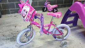 *** Triple Deal ***As new condition Barbie Bike, early learning centre sand and water Pitt and Slide