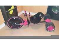 Huffy's pink go cart