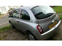 Nissan Micra 2003 1 year MOT and TAX