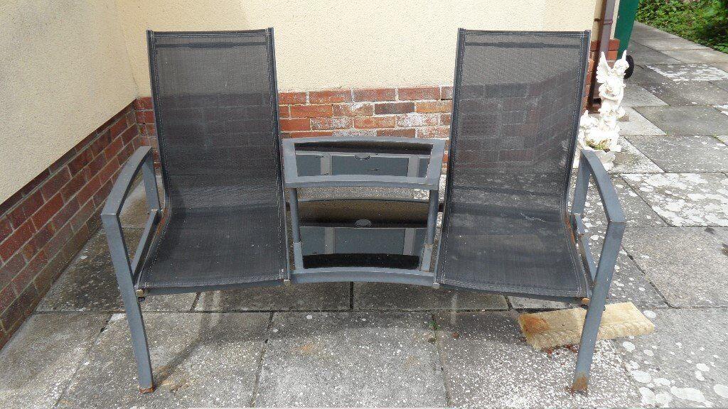 Garden Seat Bench Jack Amp Jill Havana Twin Seat With