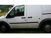 ford transit conect 110 2008 twin sliding doors