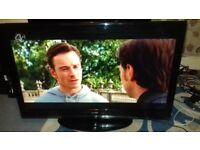 sanyo 42 inch lcd tv,full 1080p hd,freeview,3 x hdmi,GWO,in Torquay.